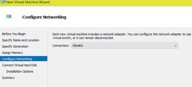 VMNetworking
