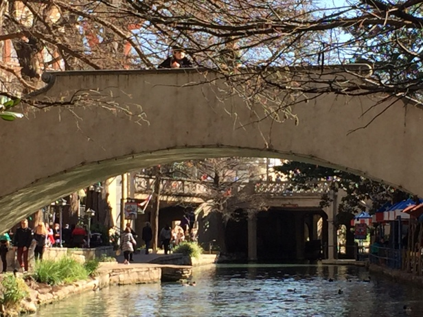 San Antonio River-Walk Bridge
