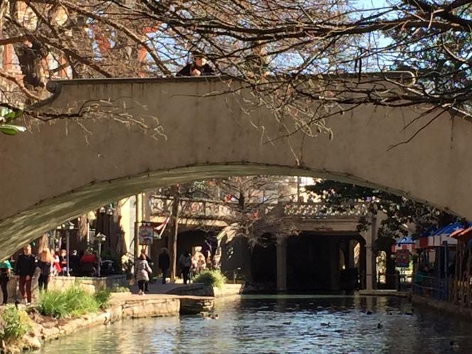 San Antonio River-Walk Bridge